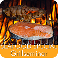 Grillseminar SEAFOOD Special Grillschule Hannover